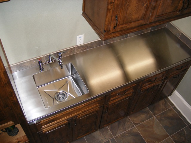 Stainless Steel Countertop With Integrated Sink Stainless Steel Counter  Tops From Fabricators